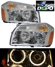 05-07 Magnum Chrome Projector Head Lights Halo DEPO