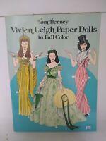 Dover Celebrity Paper Dolls: Vivien Leigh Paper Dolls by Tom Tierney (1981,...