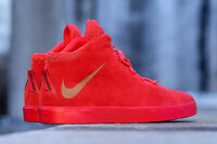 """Nike Lebron XII 12 NSW Lifestyle QS """"Red October"""" (716417-600 SHIPS DOUBLE BOXED"""