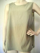 Ärmellose Damenblusen, - tops & -Shirts mit Rundhals für Business-Blusen