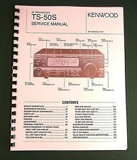 """Kenwood Ts-50S Service Manual: w/ full set of Foldout schematics (up to 11""""X31"""")"""
