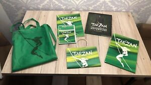 Tarzan musical Set 2 Programme und Buch Making Of