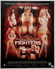 Porn Star RILEY STEELE STOYA BIBI JONES+ Signed Fighters 16x20 Sexy Photo Poster