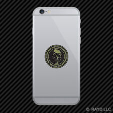 OD Green God Will Judge Our Enemies We'll Arrange Meeting Cell Phone Sticker v2a
