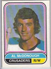 75-76 OPC O-Pee-Chee WHA Al McDonough #33 (Ex+)