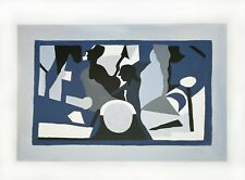 Blue and Grey Original Abstract Painting