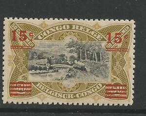 BELGIAN CONGO - CONGO BELGE : COB NR 87 x MH