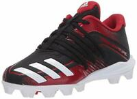 adidas Kids' Afterburner 6 Grail Md Cleats Baseball Shoe, Black, Size 0.0 Jpdb