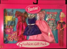 Mattel Barbie Clothing Fashion Gift Pack For Every Occasion! 6 Complete Outfits