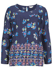 Marks and Spencer Viscose 3/4 Sleeve Blouses for Women