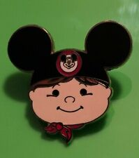 LE 1600 Disney Small World Boy Wearing Mickey Mouse Clubhouse Mouse Ears Pin