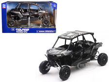 POLARIS RZR XP 4 TURBO EPS TITANIUM MATT METALLIC 1/18 MODEL BY NEW RAY 57843 C