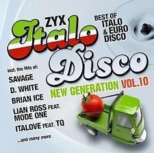 ZYX Italo Disco New Generation Vol.10 von Various Artists (2017)