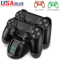 FOR PS4 Playstation4 Wireless Controller Fast Charging Station Dual USB Charger