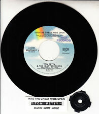 """TOM PETTY Into the great wide open 7"""" 45 record + juke box title strip BRAND NEW"""