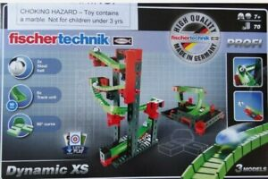 FISCHERTECHNIK PLUS CREATIVE BOX BASIC bauteileset 630 pezzi componenti costruzione modulare