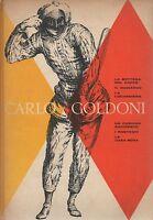 (Carlo Goldoni) Commedie 1959   Mondadori