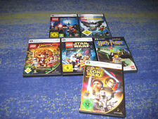 PC LEGO Sammlung Lego Star Wars Harry Potter Indiana Jones Batman viel deutsch