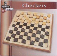Damespiel mit Holzbrett und Holzsteinen Dame Spiel Brettspiel Strategie Spiele