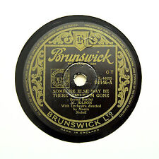 """AL JOLSON """"Someone Else May Be There While I'm Gone"""" BRUNSWICK 04146 [78 RPM]"""
