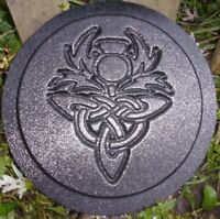 Gothic mold concrete plaster plastic plaque mould