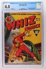 Whiz Comics #25 - Fawcett 1941 - CGC 4.0 1st App & Origin of Captain Marvel Jr.!