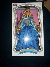 "Disney Limited Edition Deluxe 17"" Aurora Sleeping Beauty Blue Dress Doll"