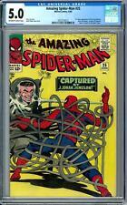Amazing Spider-Man #25 CGC 5.0 (OW-W) 1st Mary Jane Cameo