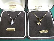 Beauty Sapphire Sterling Silver Fine Necklaces & Pendants