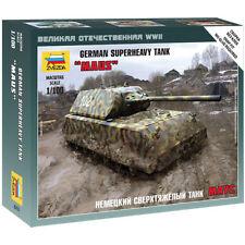 ZVEZDA 6213 Maus German WWII Heavy Tank 1:100 Tank Model Kit