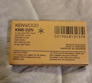 KNB-22N Ni-MH Battery 2100mAh for Kenwood TK-481 TK-290 TK-5400 Portable Radio