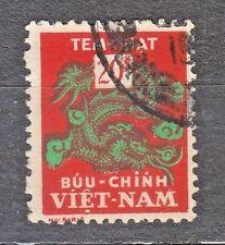 South VIETNAM 1956 used SC#J11 20pi stamp,  Postage Due Stamp.