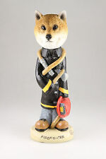 FIREFIGHTER SHIBA INU INTERCHANGEABLE  SEE BREEDS , BODIES @ EBAY STORE)