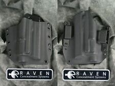 NEW RAVEN CONCEALMENT H&K HECKLER & KOCH HK45 M6 LIGHT SHORT SHIELD HOLSTER