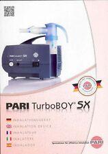 Pari Turbo Boy SX Inhalationsgerät - PZN 9084866 - neu & OVP v med. Fachhändler