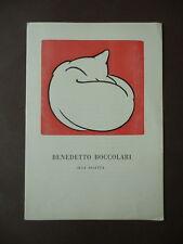 Xilografie originali Boccolari Incisioni Saletta Modena 1954 Caffè Nazionale