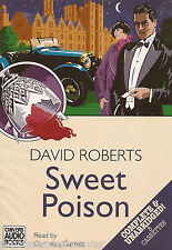 SWEET POISON - David Roberts (Cassette Audio Book) (8 Tapes/Unabridged)