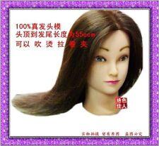 "Hairdressing Cosmetology Mannequin Head 18"" model Salon spa manikin model sets"