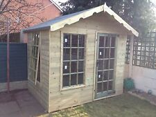 10x8 Chalet/summerhouse Fully Pressure Treated FREE FITTING