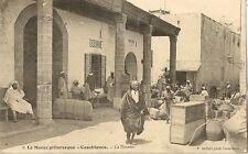 CARTE POSTALE AFRIQUE MAROC CASABLANCA LA DOUANE