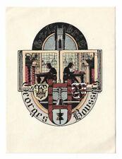 ALBERT ISSELÉE: Exlibris für Georges Boussery