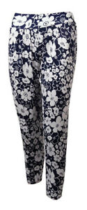Anne Cole Women's Floral Print Tapered Pants Swim Cover-Up (S, Multi)