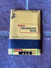 Vintage 1970/'s Kodak D Paper Lot BW Photo Enlarger Paper 5 x 7 Opened