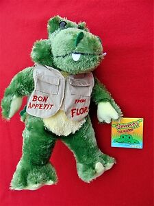 """""""SWAMPY THE GATOR"""" ~ ADORABLE 10 1/4 INCH PLUSH TOY ~ NEW WITH TAG"""