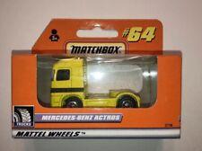 Matchbox #64 Yellow Mercedes Benz Actros Truck - NEW SEALED BOX GERMAN Convoy