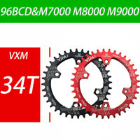 1*30-38T Chainwheel Narrow Wide 96BCD Chainring CNC Durable F M7000-9000 XTR XT