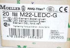 Eaton / Moeller M22-LEDC-G Leuchtelement 216562 /// 20 Stück /// NEU OVP