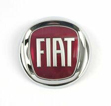 Fiat Emblem Logo Plakette Heckklappe Grande Punto 500 Croma mit 2 Pins