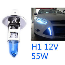 2Pc H1 12V 55W White 6000k LED Halogen Fog Car Head Light Lamp Light Globes Bulb