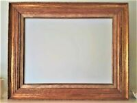 Vintage Louis XVI French Frame 18 x 24 view sight opening